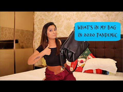 What's in My Bag for Travel in Corona Time from YouTube · Duration:  8 minutes 5 seconds
