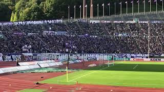 浦和レッズ戦開始前.