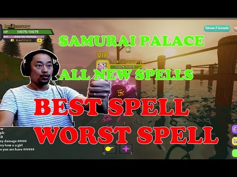 Review All Spells In Samurai Palace Roblox Dungeon Quest Bes Spell Worst Spell Ben Toys And Games Family Friendly Gaming And Entertainment