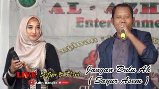 Duet Terlaris Sejagat Raya   Julehah & Rusdi Bajak   JANGAN DULU AH   GAMBUS AL AZHAR COVER