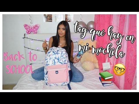 TAG ¿QUÉ HAY EN MI MOCHILA? (BACK TO SCHOOL)/ MARI URIBE