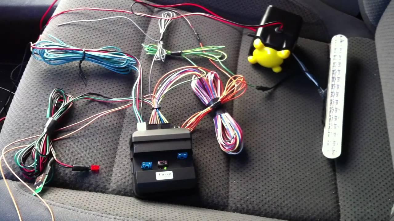 Como instalar alarma canbus mat ii ejemplo volkswagen for Instalacion de alarmas