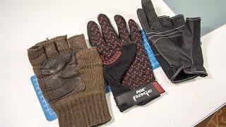 Рыболовные перчатки - большой видео обзор