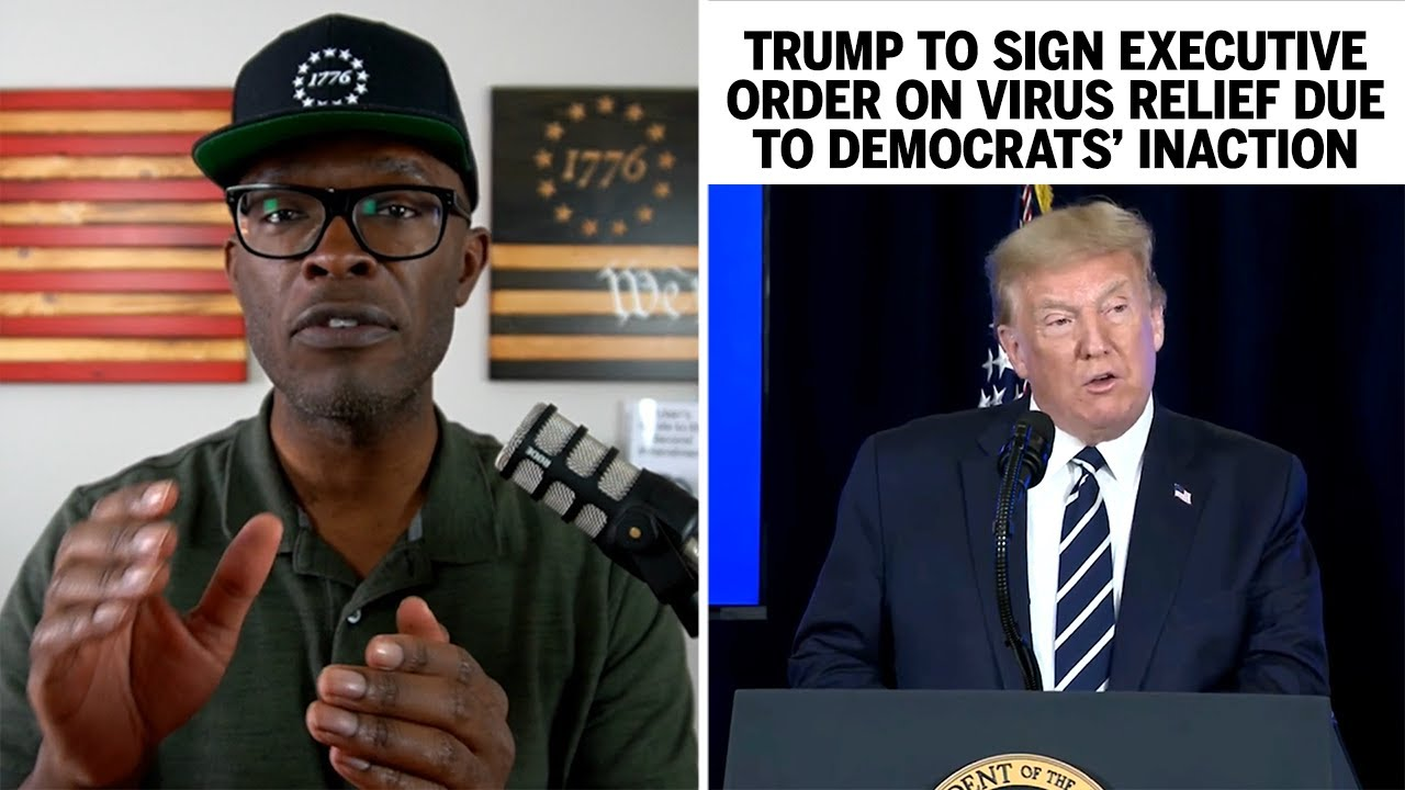 Trump To Sign Executive Order on VIRUS RELIEF Due To Democrat Inaction!
