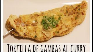 Omelette De Lékué: Tortilla Con Gambas Al Curry