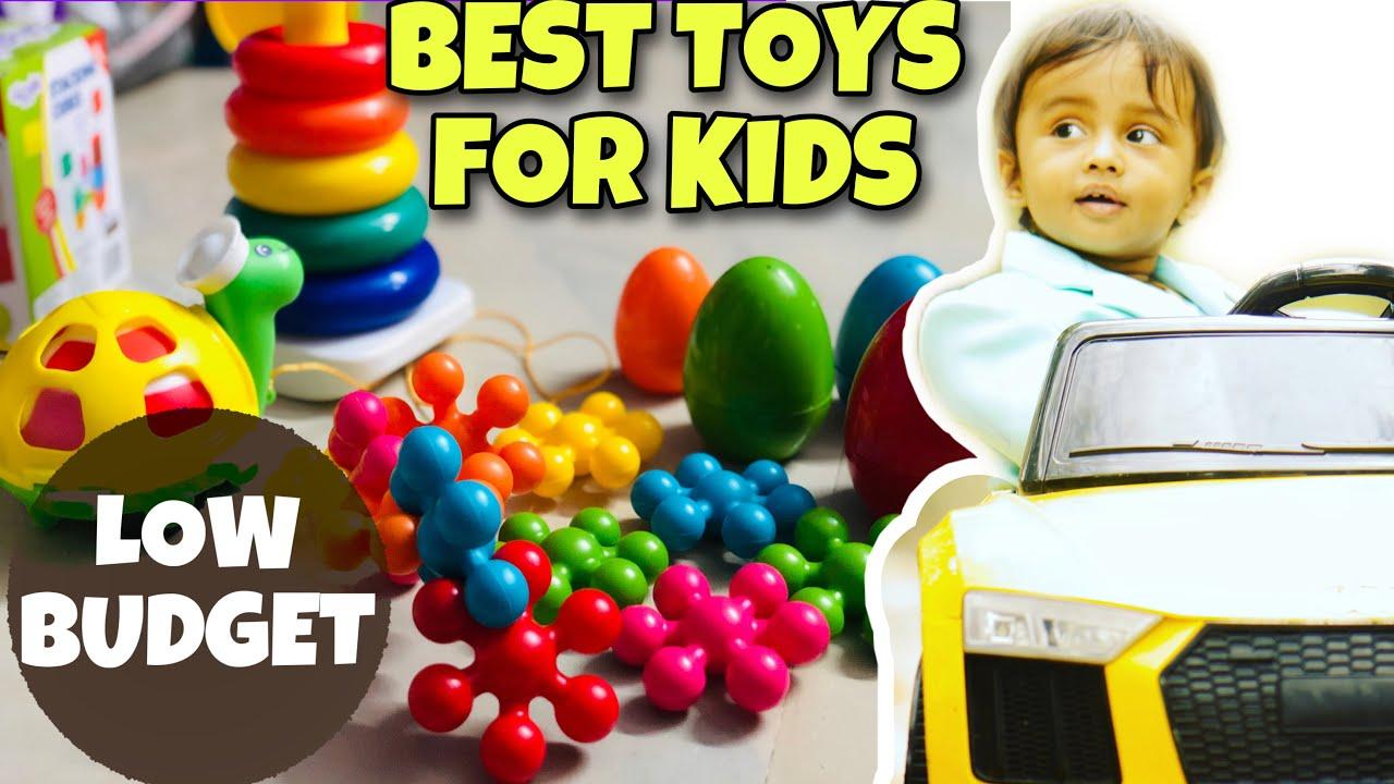 BEST TOYS for KIDS (0 -18 Months) 2020 | Low COST | BUDGET | BRAIN DEVELOPMENT | TELUGU