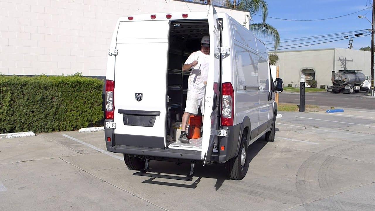 Dodge Conversion Van >> Drop Step Retractable Rear Bumper Step for Ram ProMaster ...