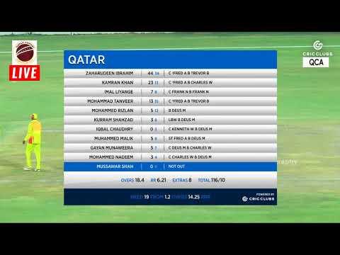 Qatar vs Uganda 3rd T20 HD Video