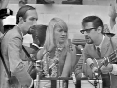 Peter Paul & Mary Talk about The March On Washington & Sing Songs 1963 [HD]