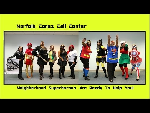 Norfolk Cares Are Your Superheroes