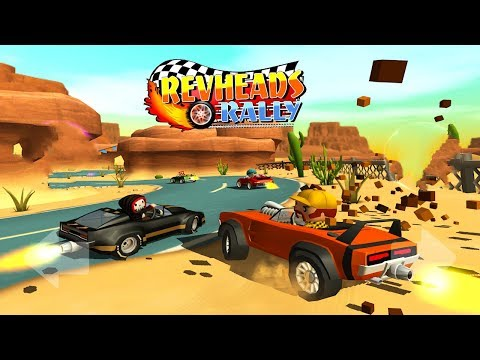 Rev Heads Rally - Android/iOS Gameplay ᴴᴰ