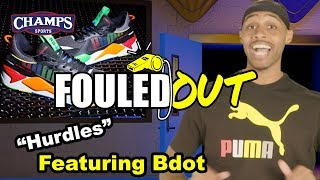 BdotAdot5 Hurdles in his Puma's | Fouled Out