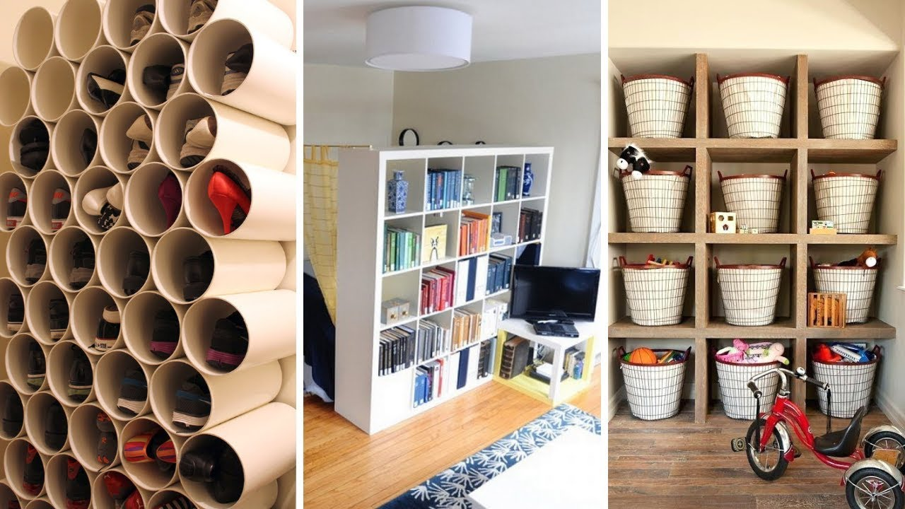 12 DIY Small Bedroom Storage Ideas