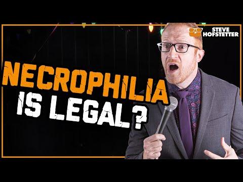 Necrophilia is legal in Louisiana