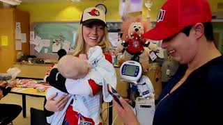 Arts, crafts and smiles: Sens' wives, girlfriends visit CHEO