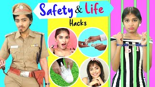 7 Life Saving SAFETY Hacks You Must Know | Anaysa