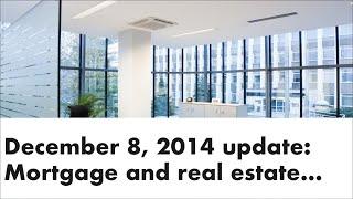 Monday Mortgage Update Dec 8 2014 | Andrew Thake Ottawa Mortgage Man