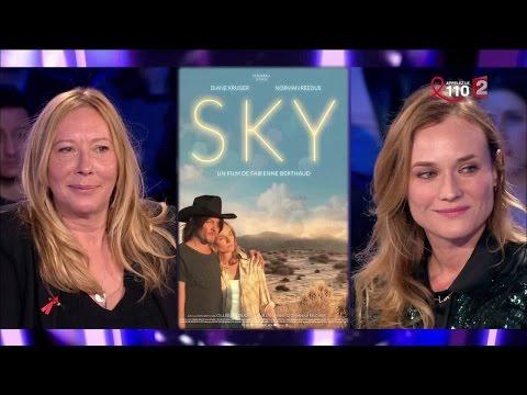 Diane Kruger & Fabienne Berthaud - On n'est pas couché 2 avril 2016 #ONPC