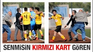 Gambar cover Kulüp Başkanı, Kırmızı Kart gören futbolcusunu dövdü