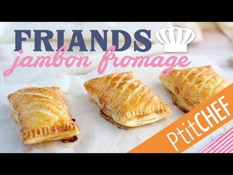 recette-de-friands-jambon-fromage---ptitchef.com