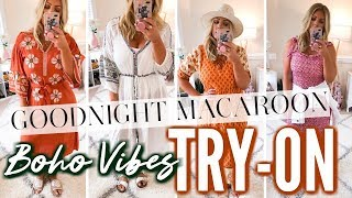 Goodnight Macaroon TRY-ON | Boho Vibes