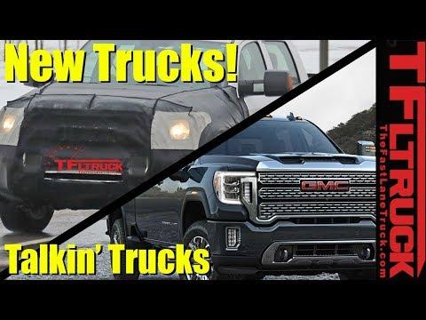 Toyota Tundra Prototype Spied and 2020 GMC Sierra HD | Talkin' Trucks #31