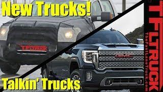 Toyota Tundra Prototype Spied and 2020 GMC Sierra HD   Talkin' Trucks #31