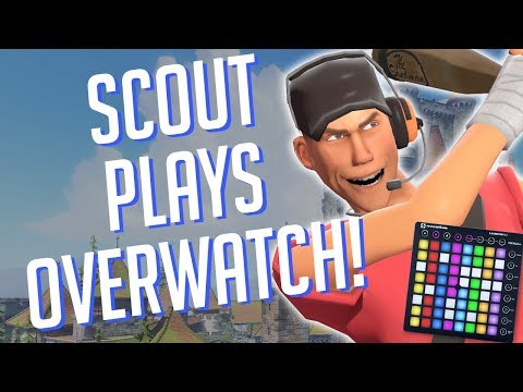 Scout Plays OVERWATCH! Soundboard Pranks in Competitive!