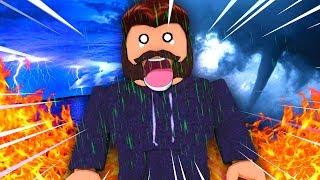 SURVIVING A 100 DISASTERS IN ROBLOX?!?