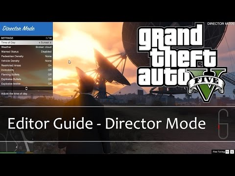 GTA V Rockstar Editor - Director Mode Guide