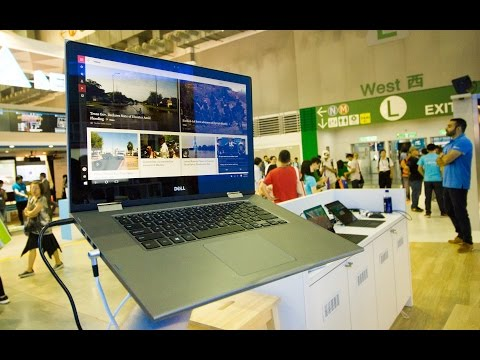 Dell Inspiron 15 5000 2-in-1 Hands On At Computex 2016 (English)