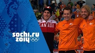 Speed Skating - Men's 1000m - Groothuis Wins Gold | Sochi 2014 Winter Olympics