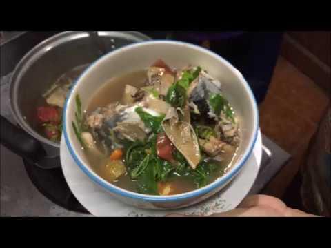 Mushroom curry with fish - Laos Food Recipe