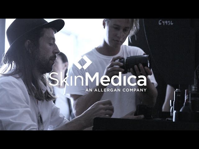 Behind the Scenes: SkinMedica® 2017 Photo Shoot