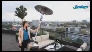 Видео обзор уличный газовый инфракрасный обогреватель Enders серии Elegance