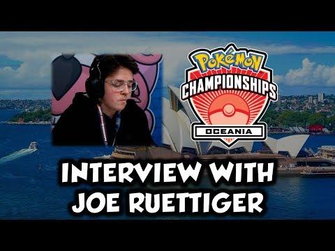 Interview with Joe Ruettiger Pokemon Oceania International Championship Runner up