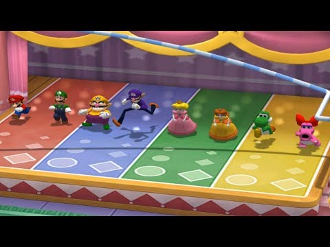 Mario Party 7 - All 8-Player Minigames