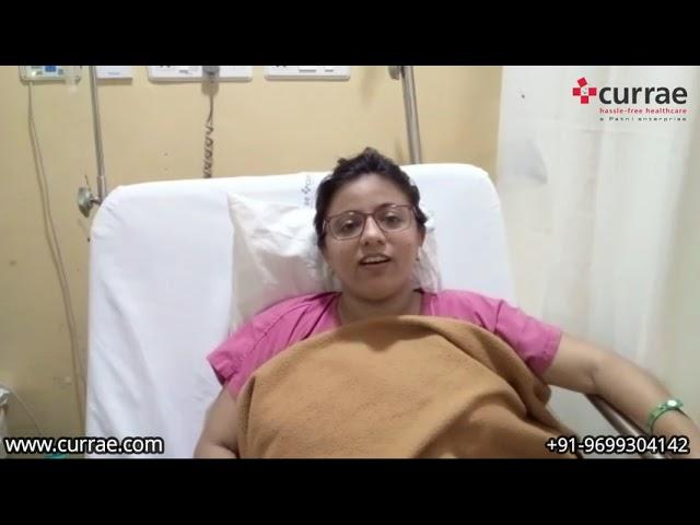 Pt. Kinjal Yadav | Orthopaedic Surgery | Dr. Bakul Arora | Currae Hospitals