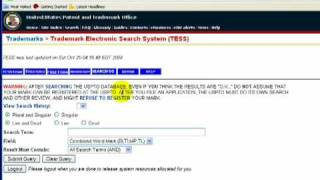 trademark search online