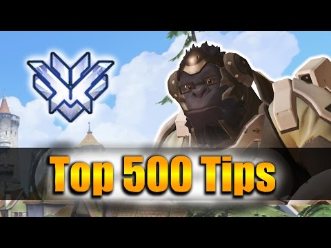 How GRANDMASTER Players DESTROY with Winston - Overwatch Top 500 PRO Tricks | Miro Winston Vod