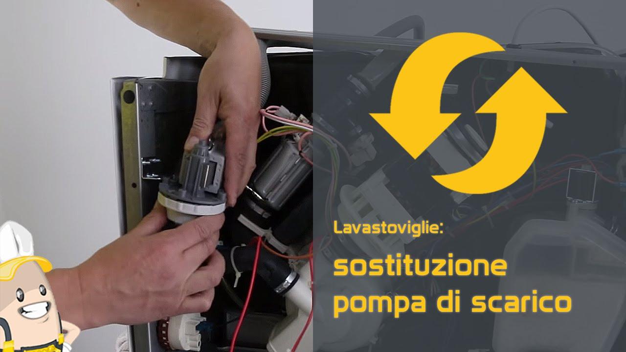 Come sostituire la pompa per la lavastoviglie - YouTube