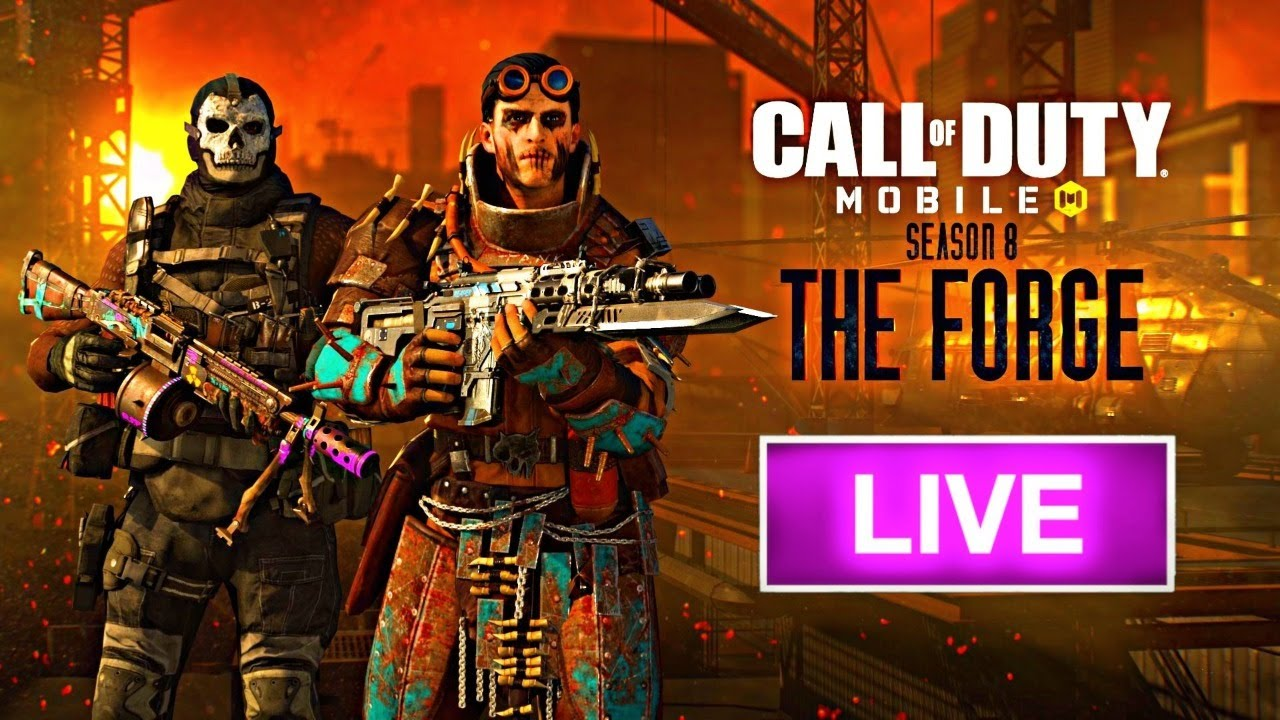 New Season 8 Battle Pass is Here | Call of Duty Mobile Live Stream India