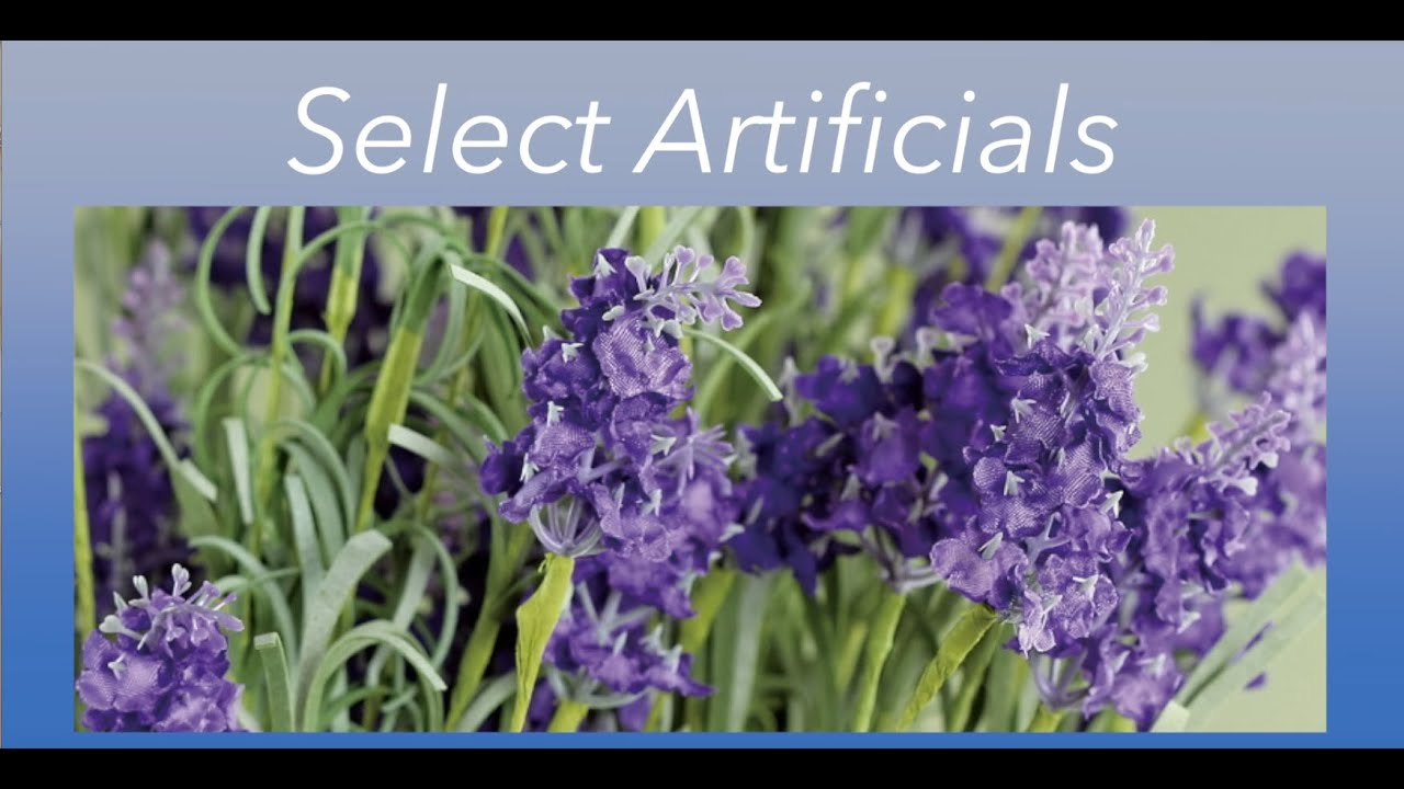 Select Artificials Named A Top Artificial Flower Company Youtube
