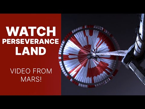 Watch NASA's Perseverance Rover Land | Video from Mars!