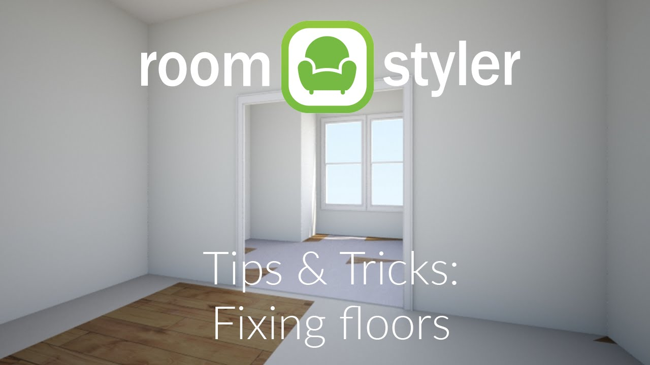 Roomstyler tips and tricks fixing floors youtube for Roomstyler com