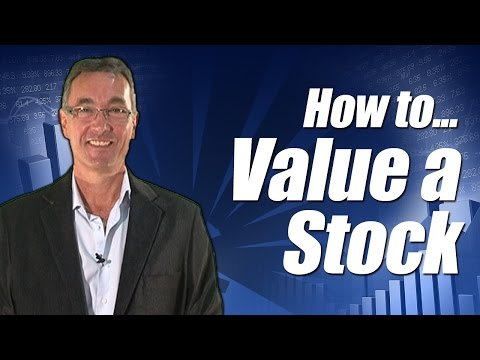 How to Value a Stock using dividends, debt and PEG ratio