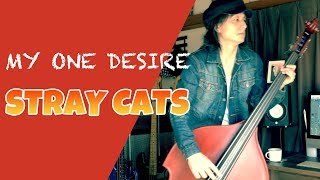 MY ONE DESIRE / STRAY CATS (LEE ROCKER)【DOUBLE BASS COVER】