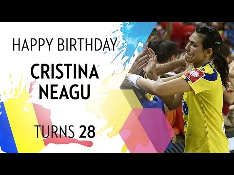Happy birthday, Cristina Neagu | EHF EURO 2016