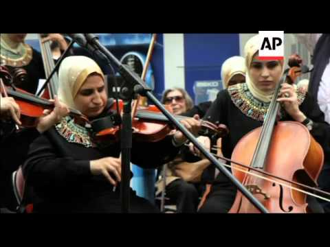 BLIND WOMEN'S ORCHESTRA TAKES CENTRE STAGE