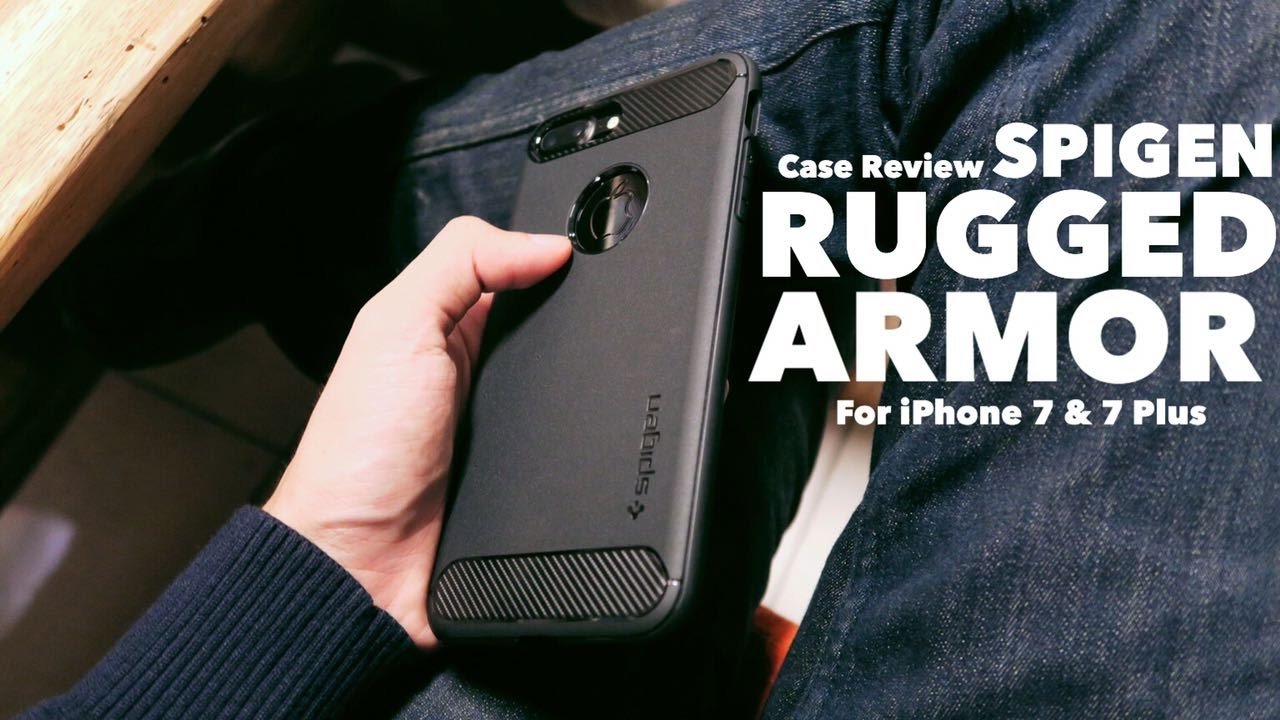 online retailer b6b1b e56e9 Spigen Rugged Armor for iPhone 7 Plus - Case Review by iDevice.id